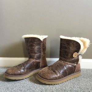 Ugg Bailey Button Boots - Great Condition